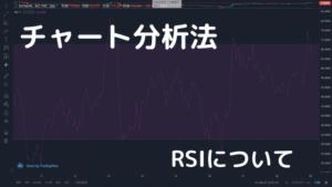 チャート分析法 RSI編